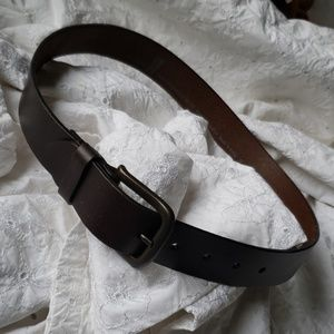 Levi's 30 net mens belt brown